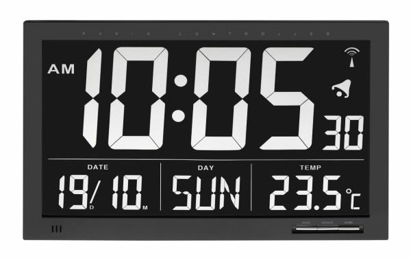 Radiografische klok met temperatuur XL